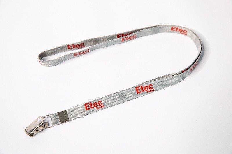 Cordão personalizado para credencial